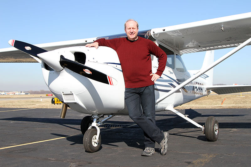 Howard Cooper of Tailwinds Flight School