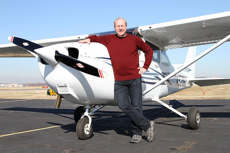 Howard Cooper of Tailwinds Flight School